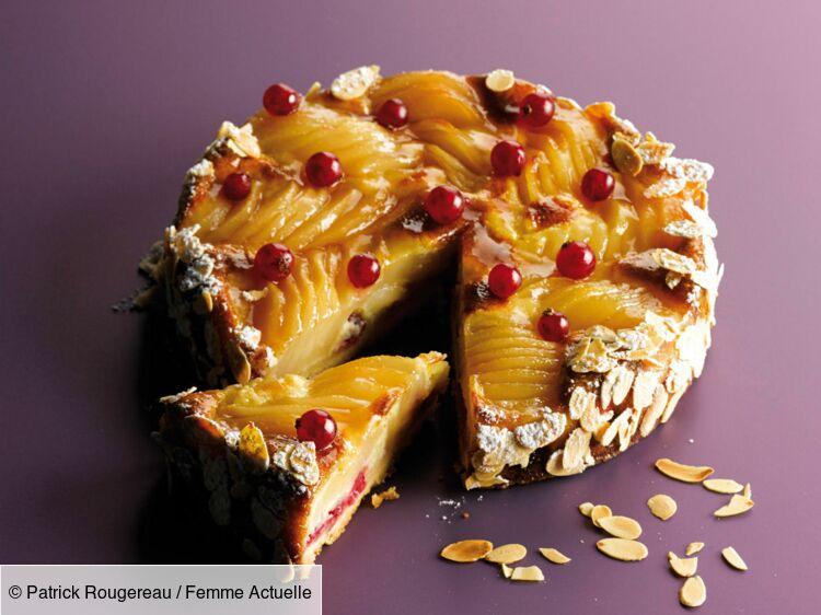 La tarte Bourdaloue de Christophe Michalak : découvrez les recettes de cuisine de Femme Actuelle Le MAG