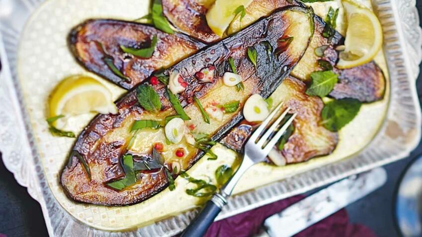 15 recettes minceur à l'aubergine