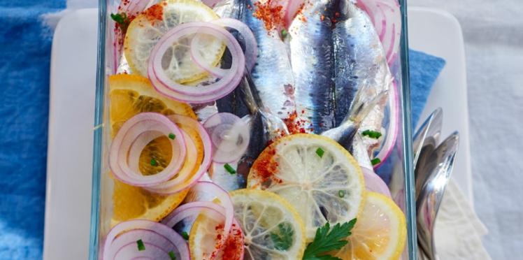 Terrine de sardines au piment d'Espelette