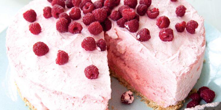 Gâteau mousseux aux fruits rouges