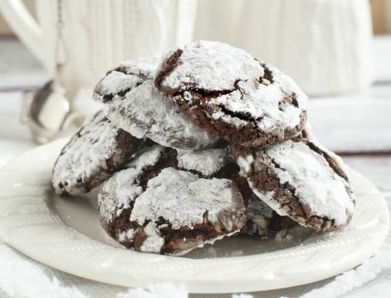 Cookies des neiges sans gluten