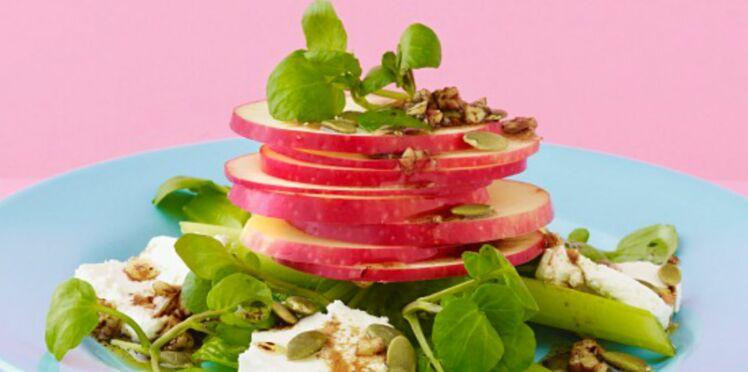 Salade pommes et feta