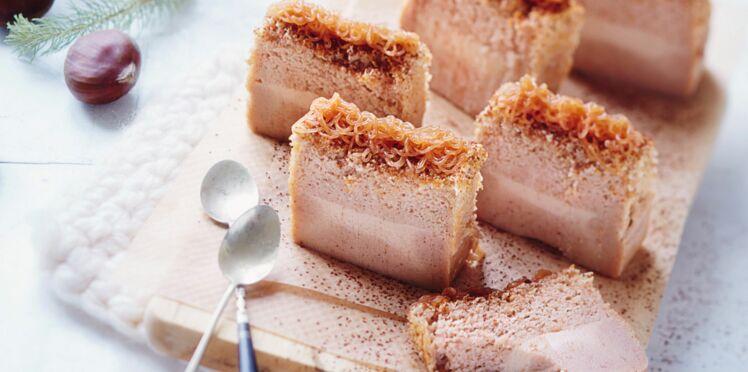 Gâteau magique à la crème de marrons
