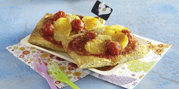 Pizza de pommes de terre