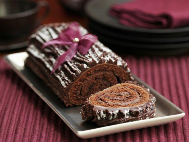 Bûche De Noël à La Mousse Au Chocolat Découvrez Les Recettes De