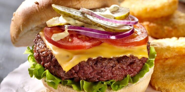 hamburger l 39 am ricaine d couvrez les recettes de. Black Bedroom Furniture Sets. Home Design Ideas