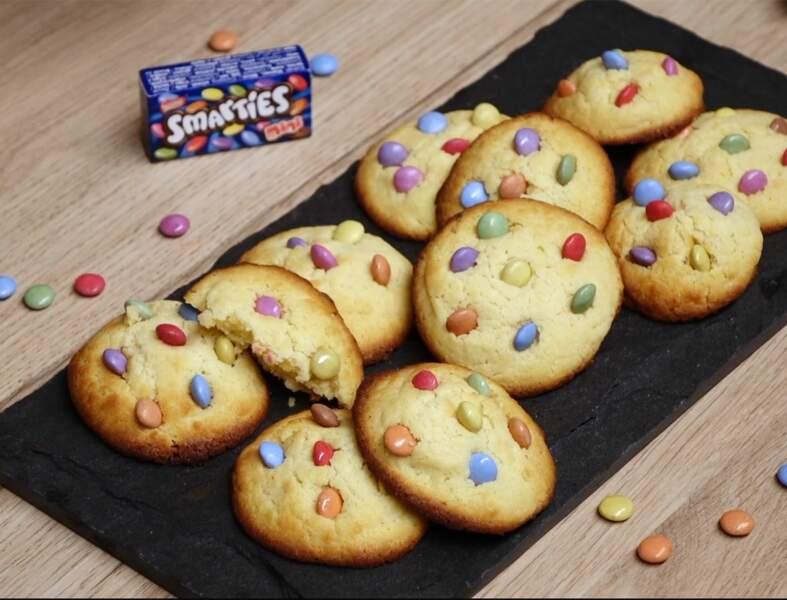 Cookies faciles aux smarties