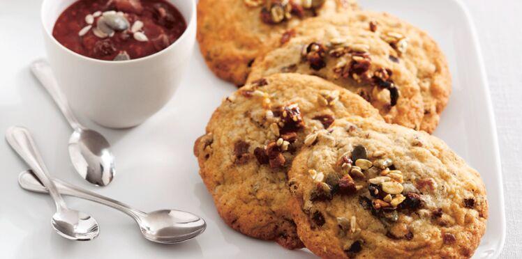 Cookies au muesli sans gluten d'Eric Kayser