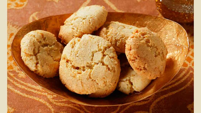 Macarons moelleux aux amandes