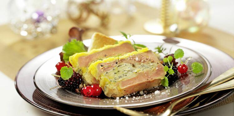 Foie gras à la fourme de Montbrison