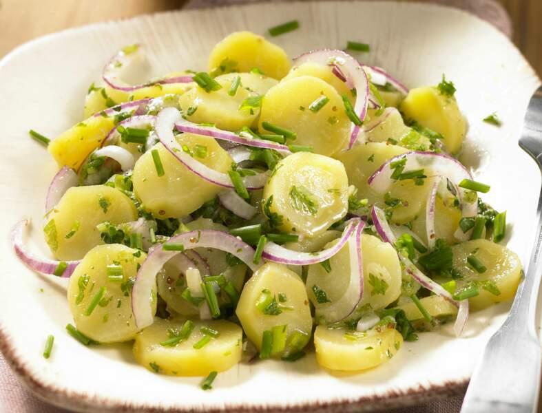 Salade de pomme de terre diététique