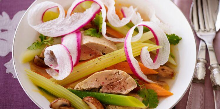 Pot-au-feu de foie gras aux saveurs du Siam