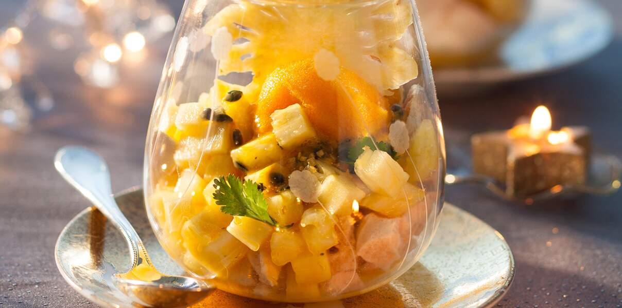 Fraîcheur d'ananas, mangue, passion