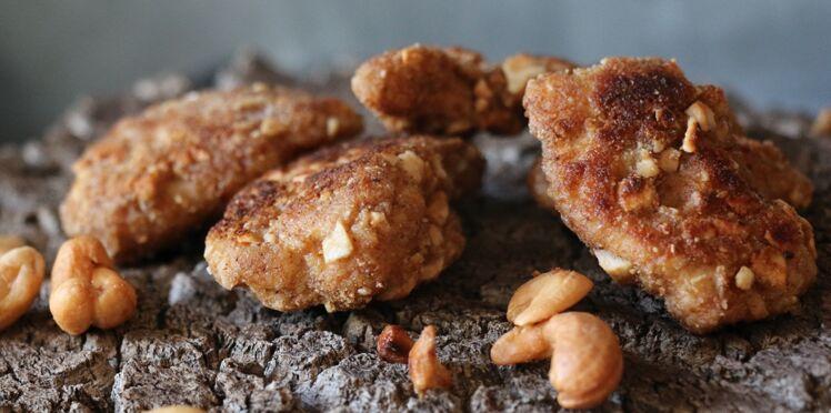 Nuggets de poulet aux noix de cajou
