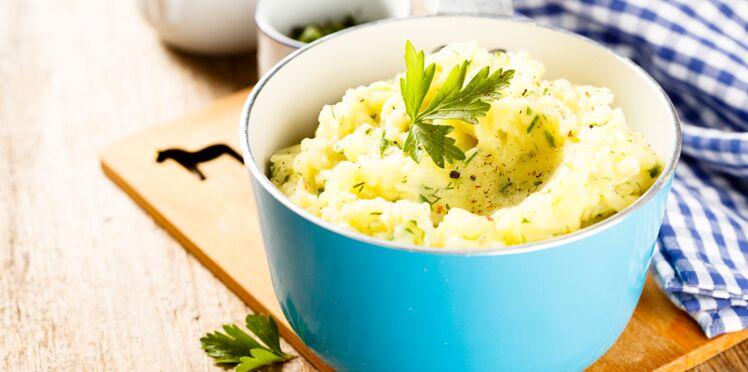 Purée poireaux-pommes de terre