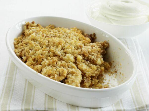 Tarte Crumble Aux Pommes Decouvrez Les Recettes De Cuisine De
