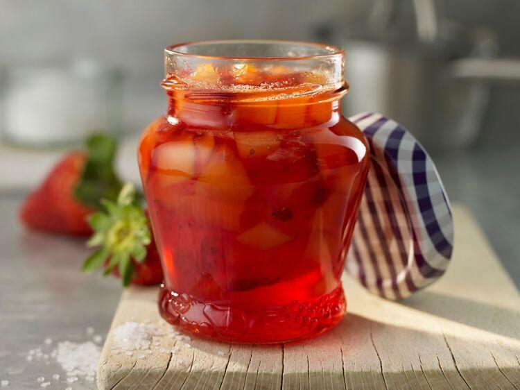 confiture de fraise cassonade