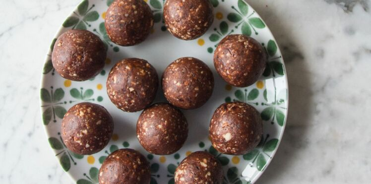 Energy balls aux amandes et au cacao
