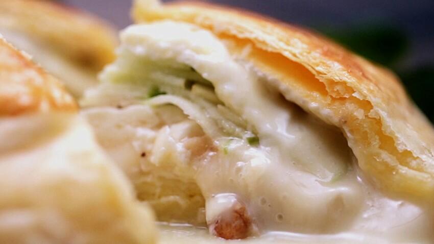 VIDÉO - La recette du camembert feuilleté ultra-coulant