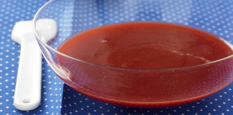 Recette du coulis de fraises facile