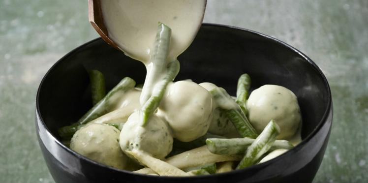 Curry vert au poulet