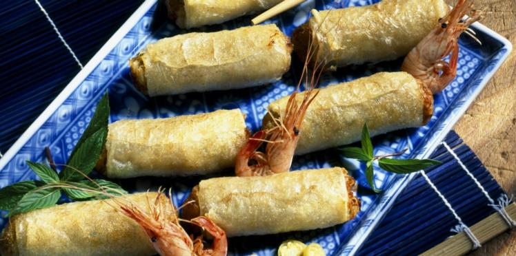 Nems aux crevettes