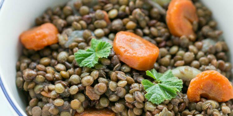 Lentilles au Cookeo