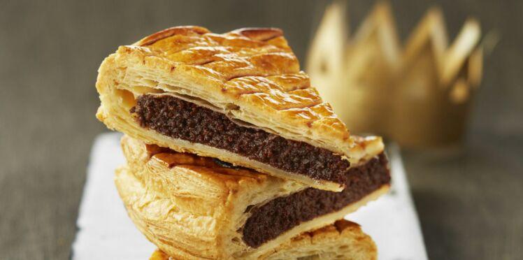 Galette facile frangipane chocolat
