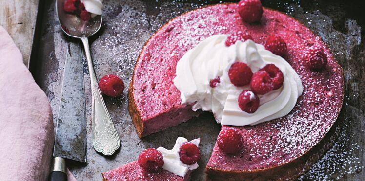 Gâteau fondant aux framboises rapide de Laurent Mariotte