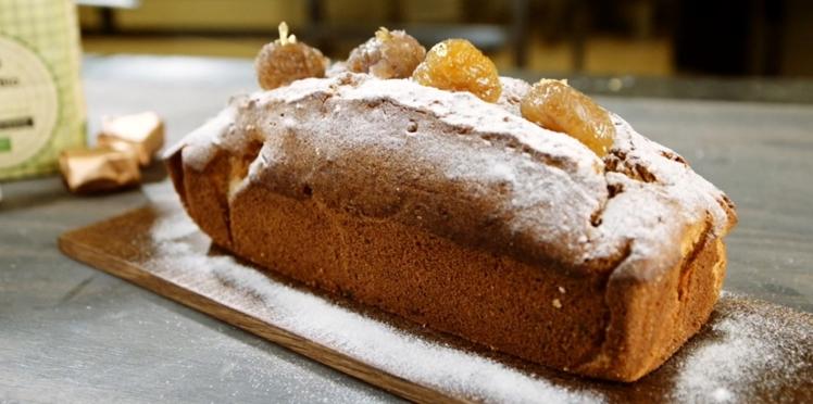Le cake aux marrons glacés