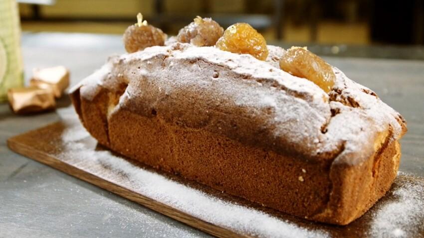 Vidéo : un cake aux marrons glacés super facile pour Noël