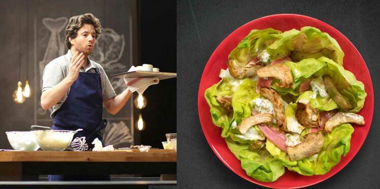 Salade d'artichauts de Jean Imbert