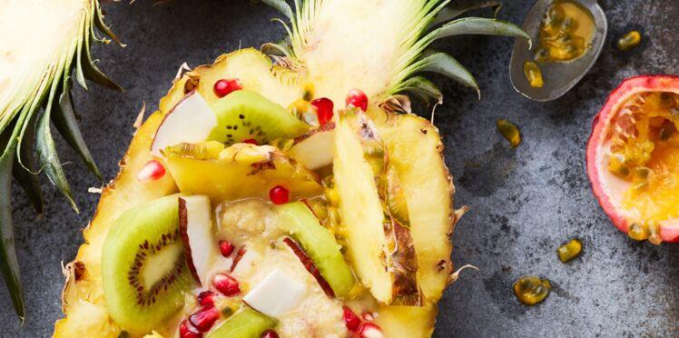 Ananas smoothie bowl