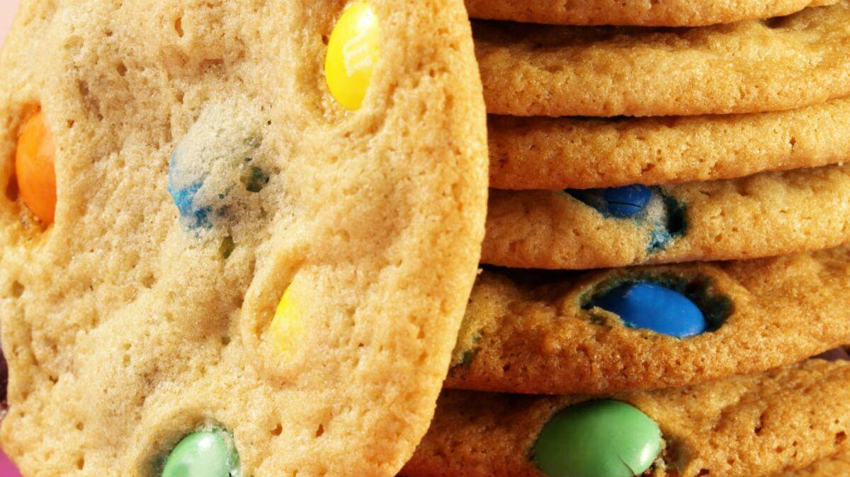 Cookies aux pépites de couleur (M&M's®)