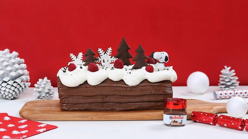 Bûche de Noël au Nutella®