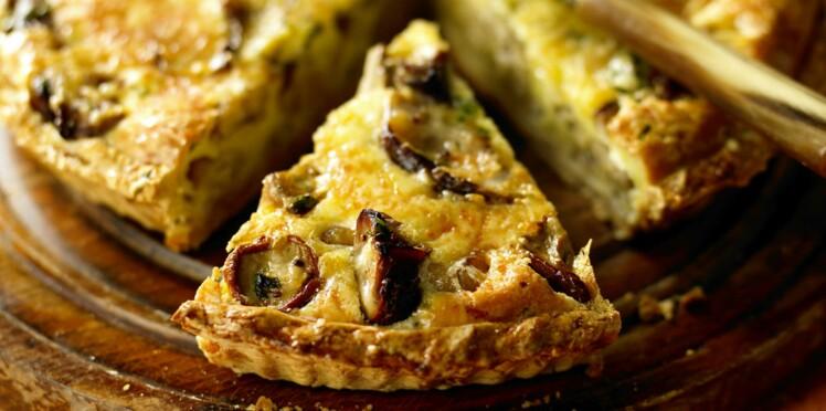 Quiches et tartes salées : les meilleures recettes de l'automne