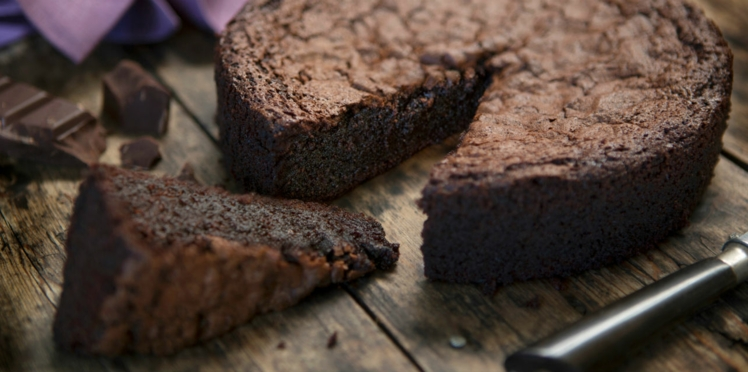 Gâteau au chocolat magique