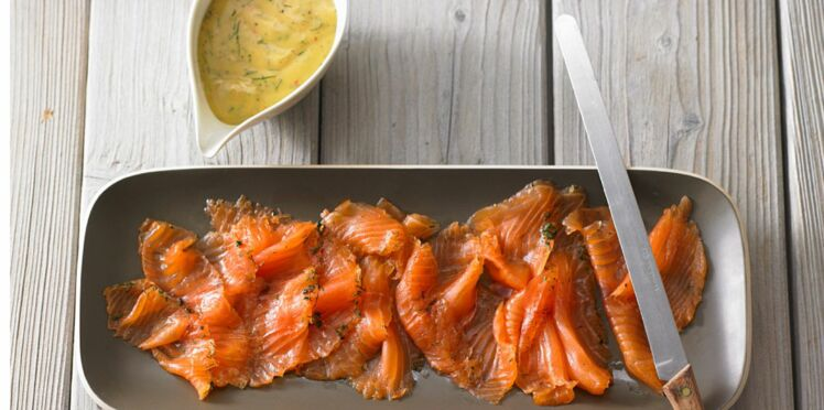 La vraie recette du saumon gravlax de Noël à la moutarde