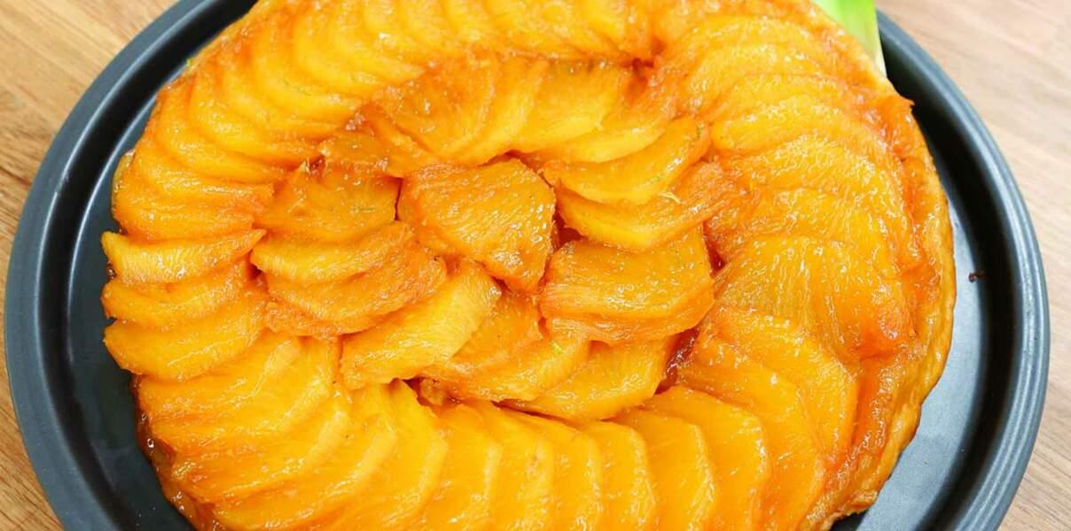 Tatin ananas-gingembre