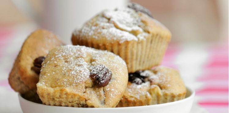 Petits cakes aux pommes et noix de pécan