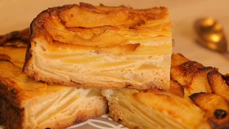 Recette Weight Watchers : gâteau invisible du verger
