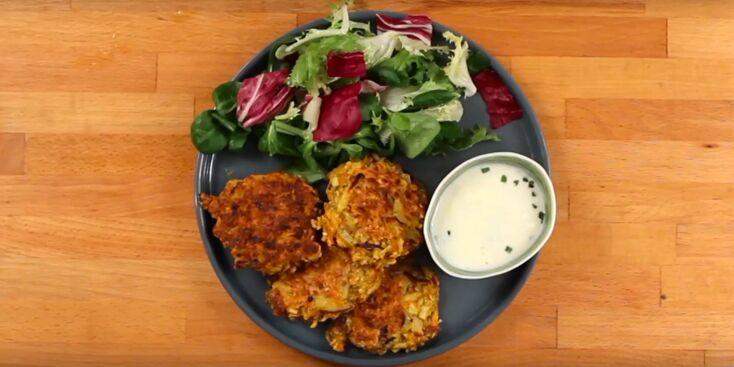 Recette végétarienne en vidéo : les croquettes de légumes