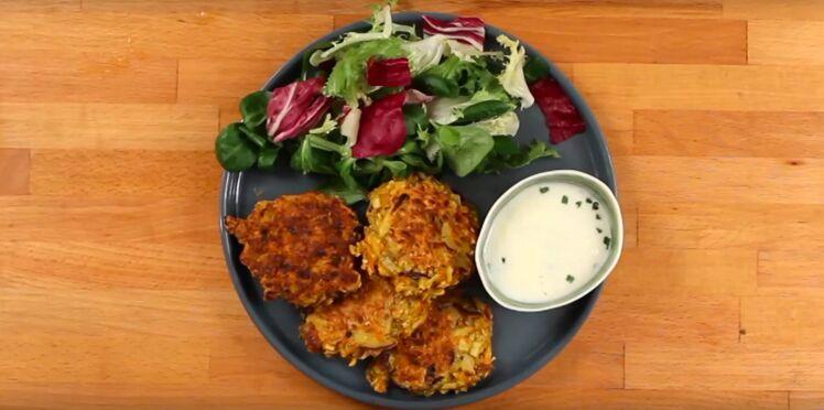 Croquettes de légumes végétarienne