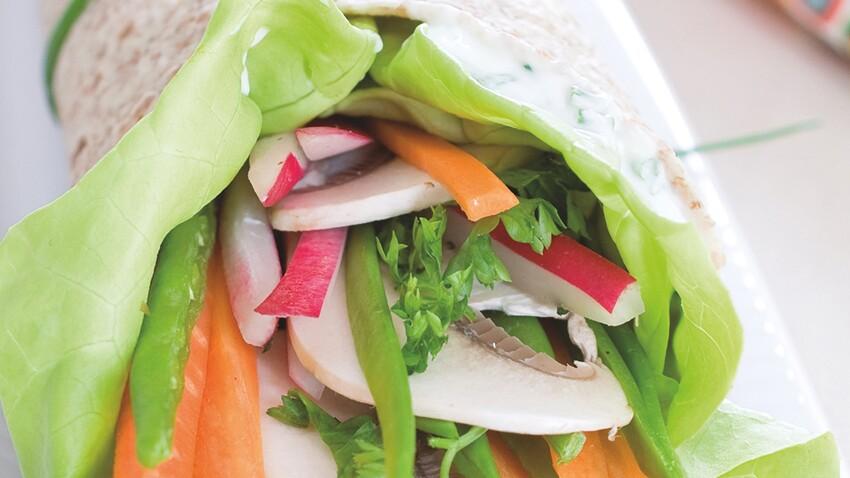Wrap végétal