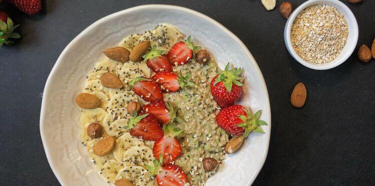 Porridge à la courgette ou «zoats»
