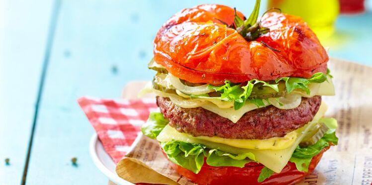 Tomate burger facile et pas cher