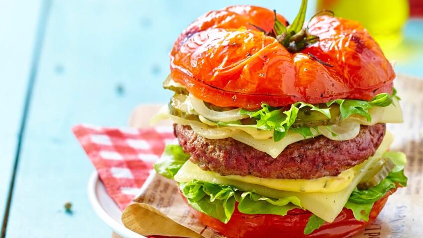Tomate Burger Facile Et Pas Cher Decouvrez Les Recettes De Cuisine De Femme Actuelle Le Mag