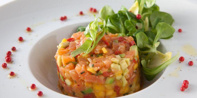 Repas de fête : nos recettes au saumon