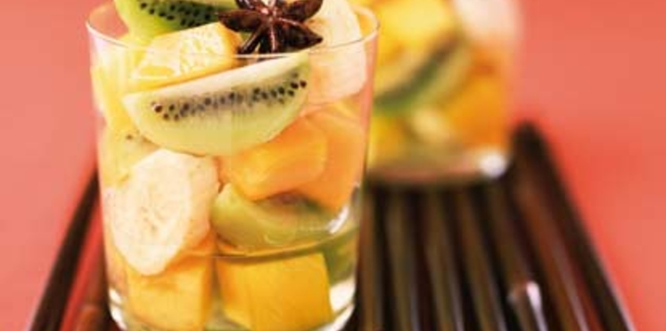 Infusion de fruits à la badiane