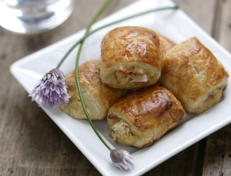 Feuilletés au thon et au fromage